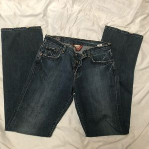 Butter soft lucky brand button fly mid rise jeans